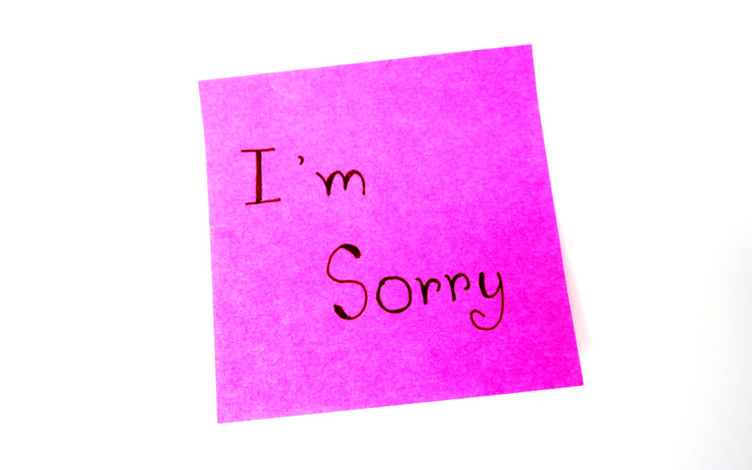 """Part Two: Talking with God and """"I'm Sorry"""" Prayers"""