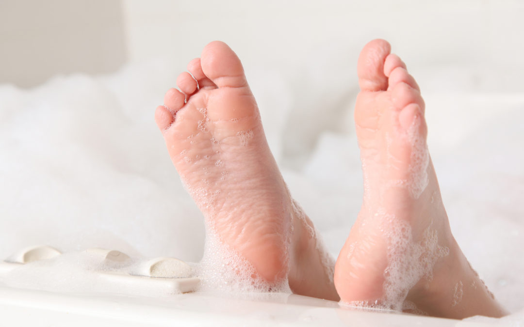 Bubbles and Beautiful Feet (Isaiah 52:7)