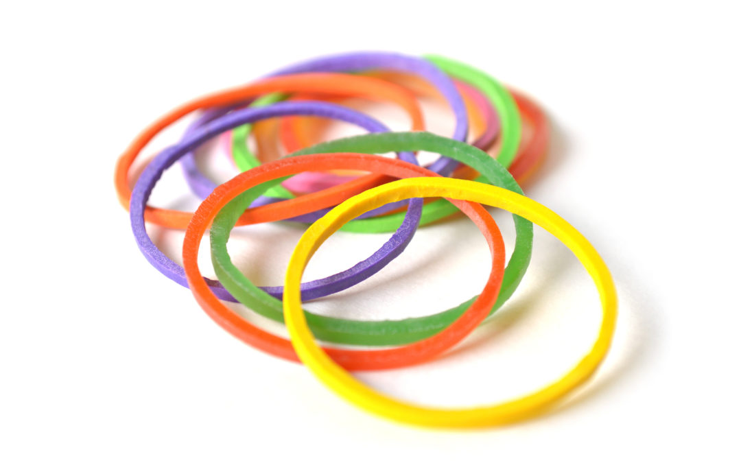 Rubber Band Love (An activity for Valentine's Day)