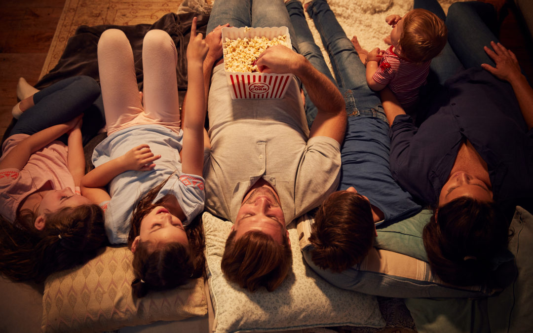 A Popcorn & Movie night devotional: Change in the bottom of a popcorn bowl