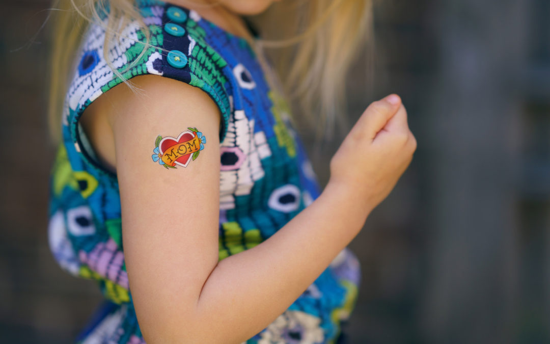 Kid tattoos devotional–a great way to share the story of Jesus!