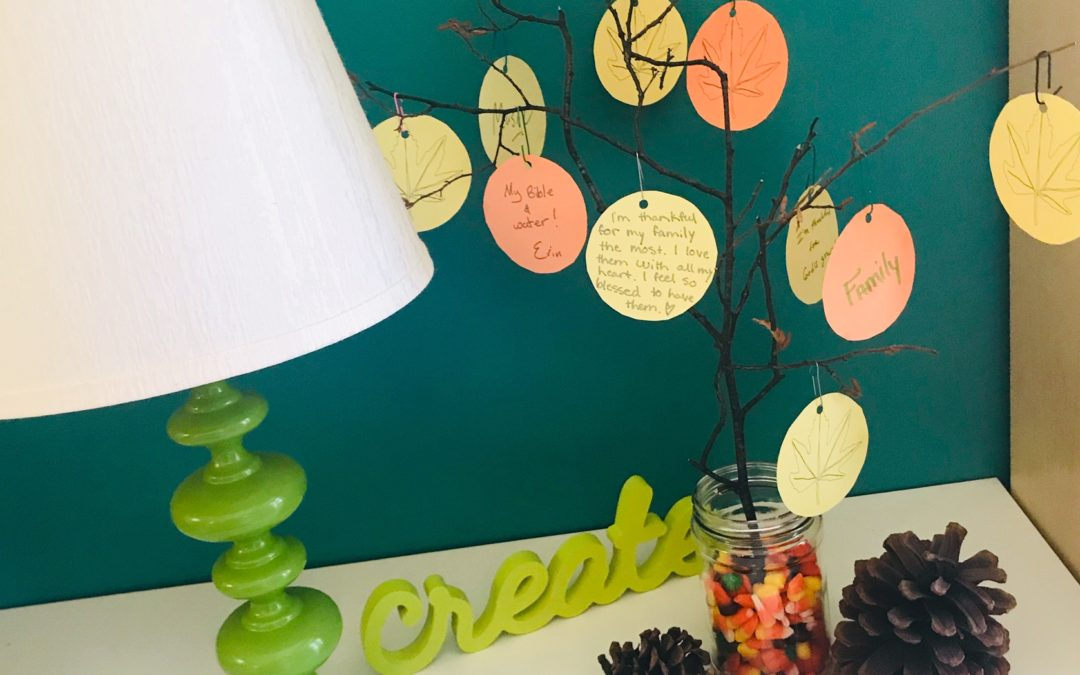 Create a Thanksgiving Tree with Your Family
