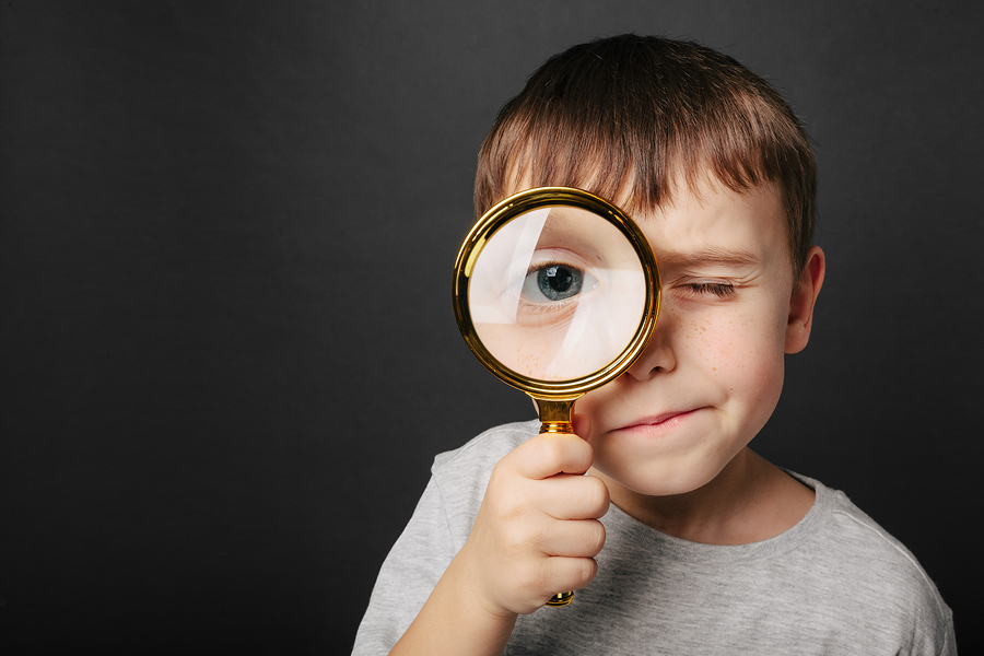 Hopeful Kids who Wage War on Worry: Magnifying glass object lesson