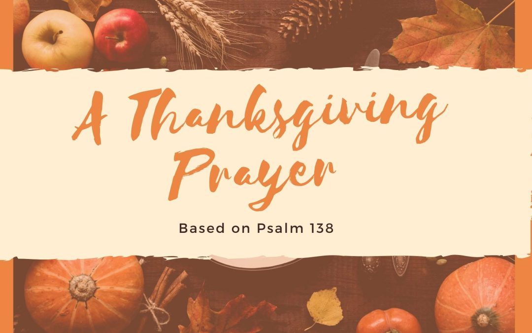 A Family Thanksgiving Prayer