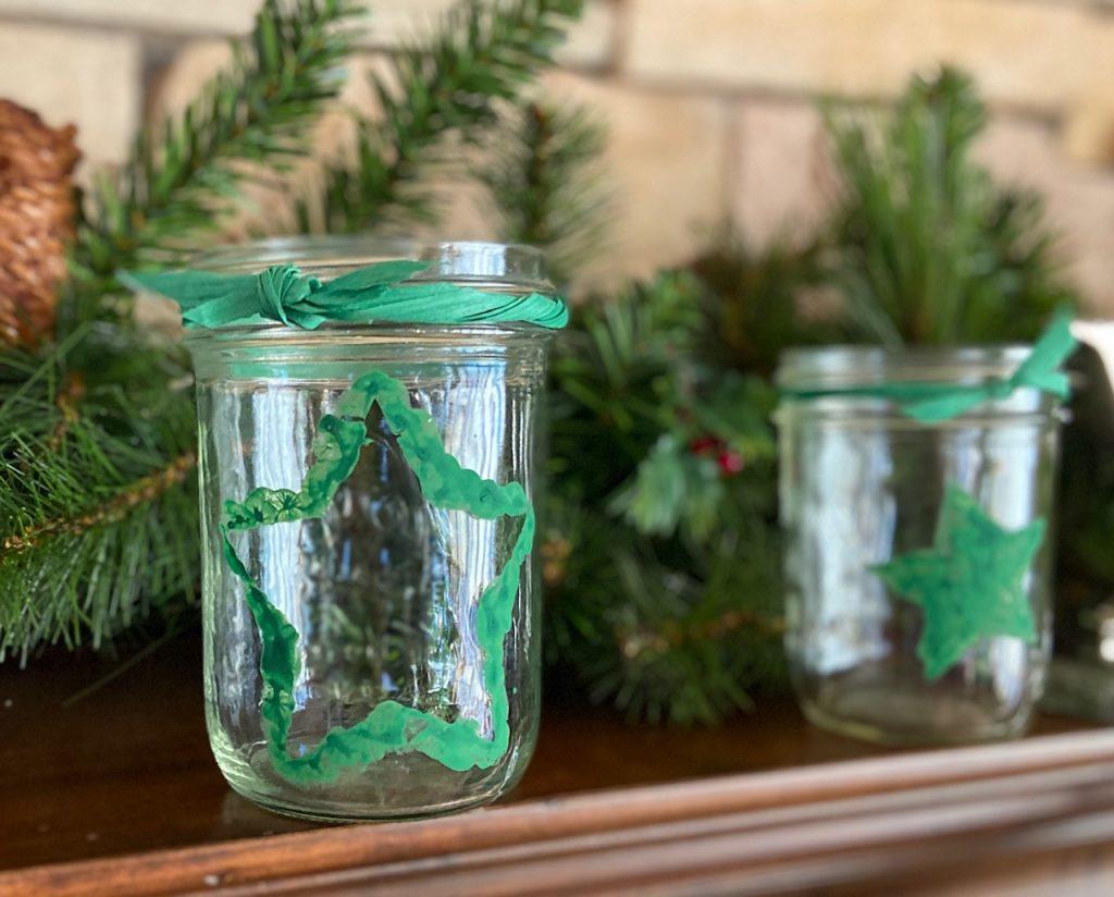 holiday hope jar outline
